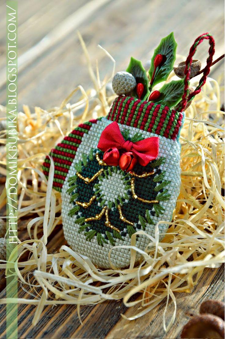 Традиционные варежки/ Traditional mittens (Домик Бубика)