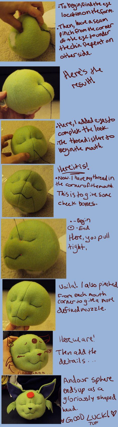 Needle Sculpting Tutorial by ~ThisUsernameFails on deviantART