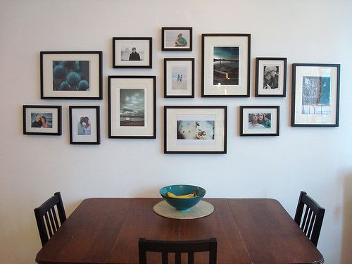 Best 25+ Photo Wall Arrangements Ideas On Pinterest