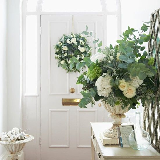 Festive and fragrant hallway