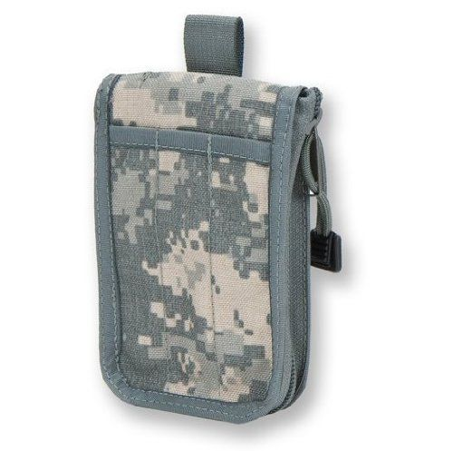"""Tactical Field Notebook Cover, Zippered Tactical Case fits 3"""" x 5"""" weatherproof pad (not included), Universal ACU Cordura by Tactical Notebook Covers. $16.00. Designed to fit a 3"""" x 5"""" Pocket Tactical Notebook.  Available for purchase with a Rite in the Rain 3"""" x 5"""" Weatherproof Notebook - see """"Select Size"""" options at top of page.  Stows easily in the breast or shoulder pocket of the Army Combat Uniform (ACU) coat or Marine Corps Combat Utility Uniform (MCCUU) blou..."""