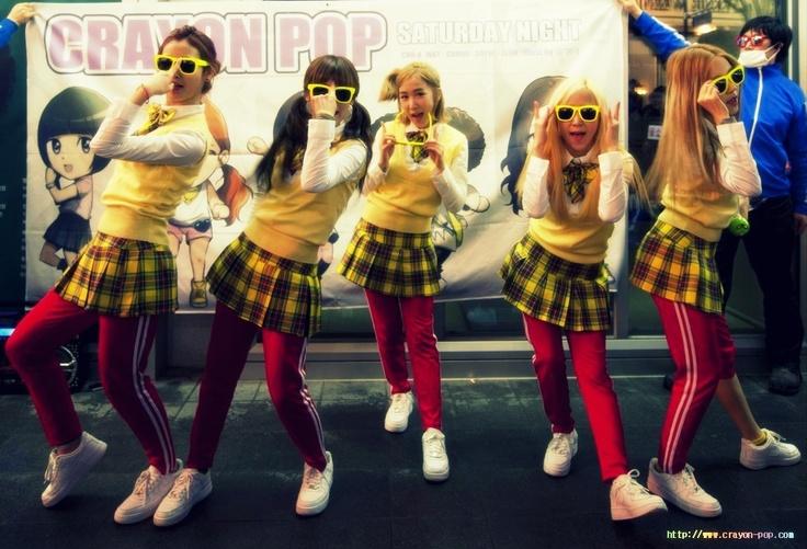 Crayon Pop, Gummi - Soyul - ChoA - Way - Ellin  ! #kpop #crayonpop