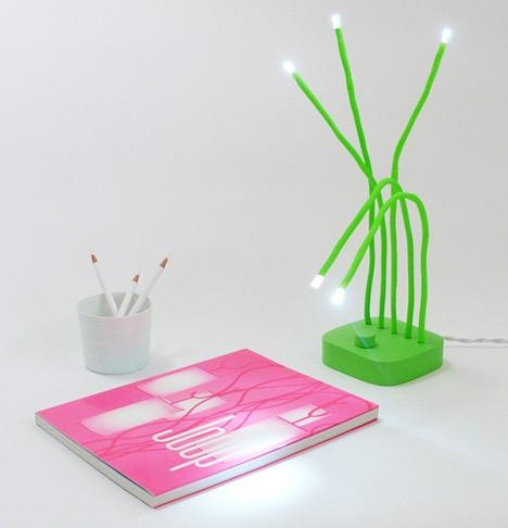 Delightful Fresh LED Lamp Design By Victor Vetterlein Design Inspirations