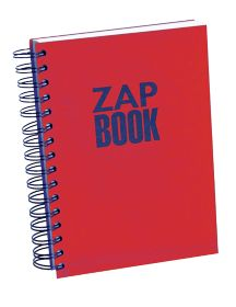 Cahier Clairefontaine Zap Book A5 80 g m2 Rouge par Office Depot