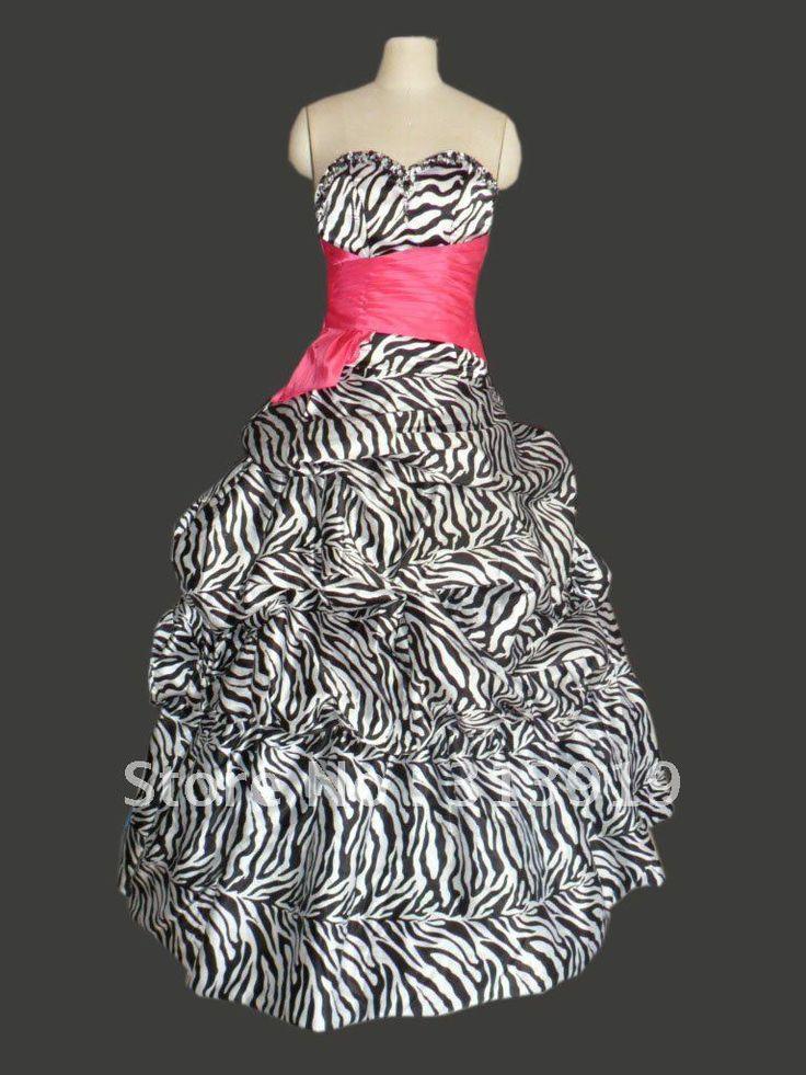 Zebra Dresses For Prom 118