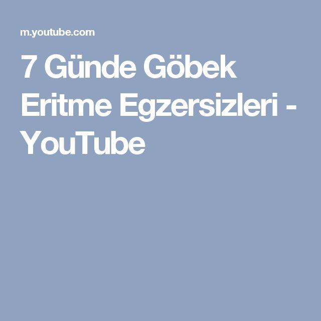 7 Günde Göbek Eritme Egzersizleri - YouTube