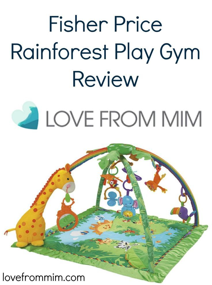 Fisher Price Rainforest Melodies and Lights Deluxe Play Gym Review Baby Toddler Play Mat- www.lovefrommim.com Baby Play Gym Play Mat