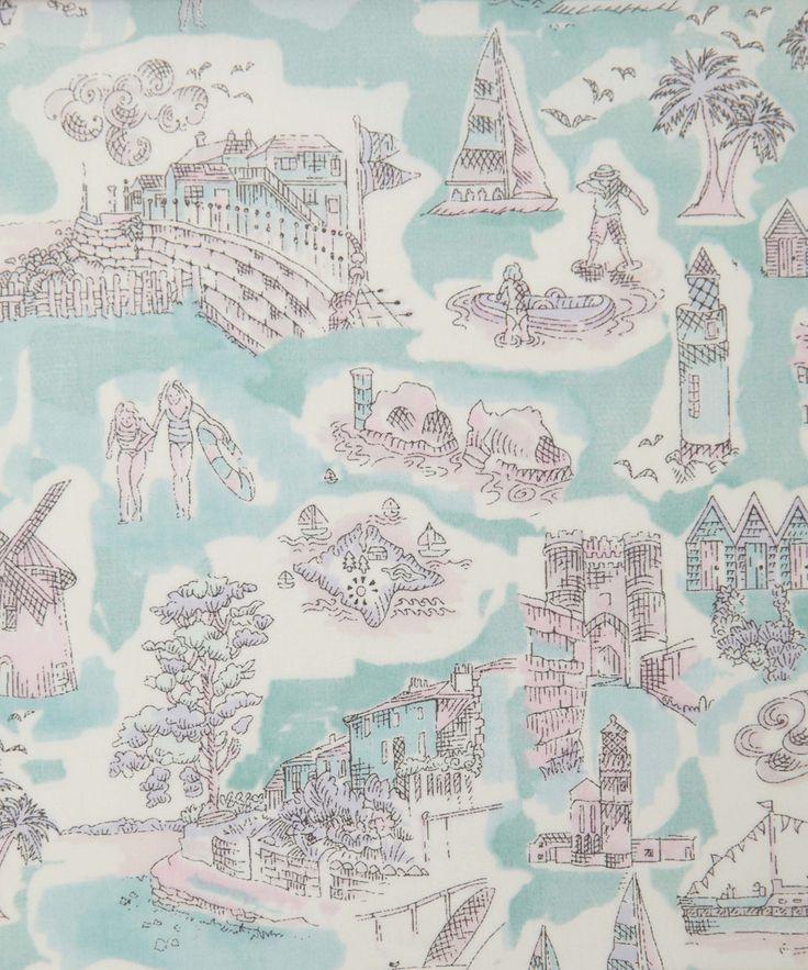 Liberty Art Fabrics Isle of Wight A Tana Lawn | Tana Lawn by Liberty Art Fabrics