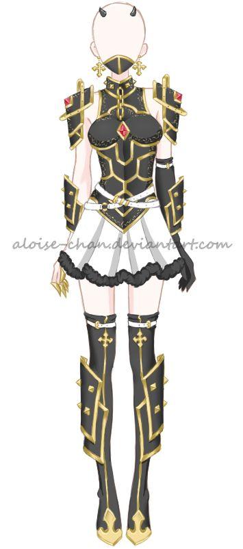 traje demonio femenino