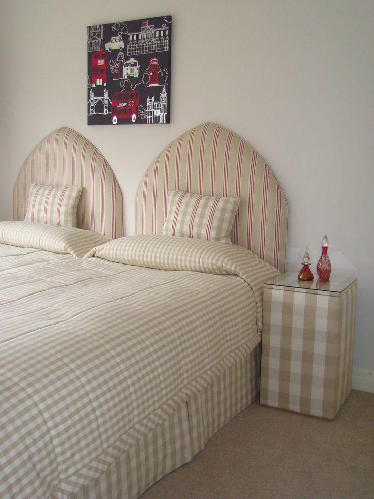 Various Ian Mankin fabrics
