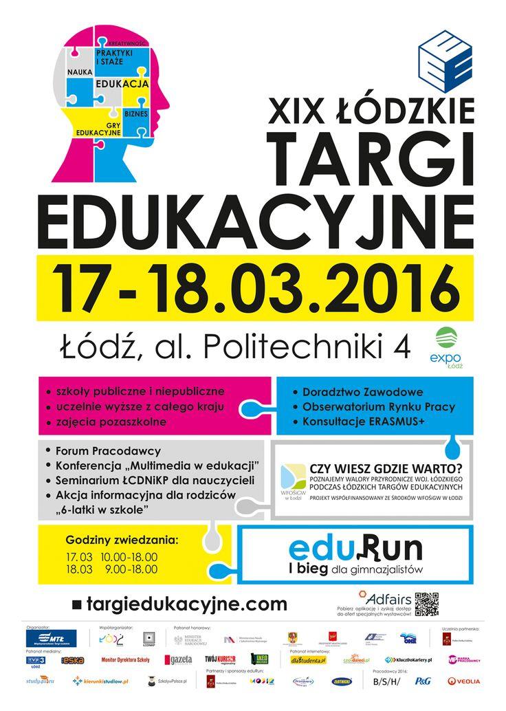 Łódzkie Targi Edukacyjne www.targiedukacyjne.com  #lodz #lodzkietargiedukacyjne #dziejesiewlodzi
