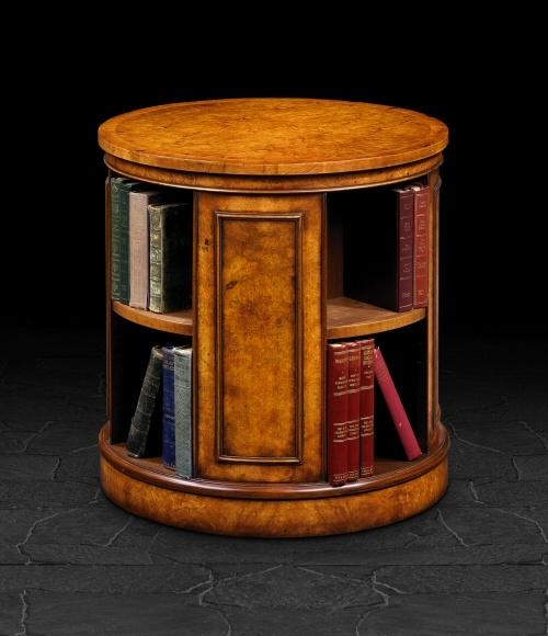122 best images about bookshelves on pinterest shelves for Revolving end table
