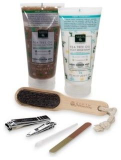 Earth Therapeutics Deluxe Foot Therapy and Pedicure Gift Set - contemporary - cleaning supplies - by Bed Bath & Beyond