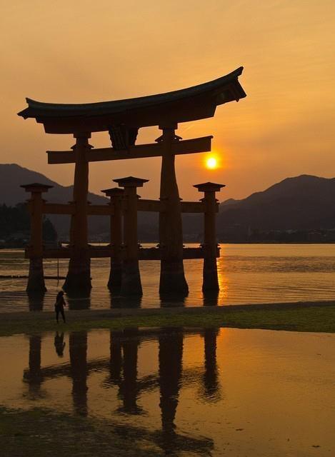 Itsukushima, World heritage by UNESCO