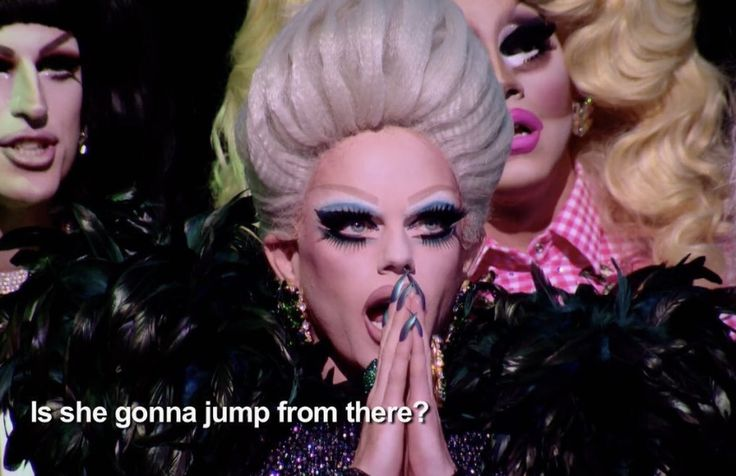 RuPaul's Drag Race All Stars - Season 3 has produced its first Twitter meme, dedicated to Morgan McMichaels shocked face, and it's a doozy.