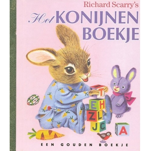 gouden boekje - het konijnenboekje   rubinstein