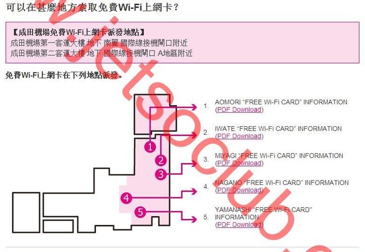 日本免費Wi-Fi上網 (Jetso Club 著數俱樂部)
