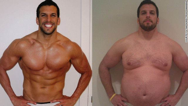 "Defining the new male ideal -  Personal trainer Drew Manning went from being ideal to overweight for his ""Fit 2 Fat 2 Fit"" campaign"