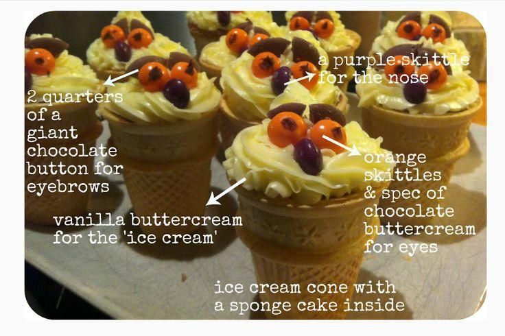 Mummy Mishaps: A Gruffalo Party  owl ice cream