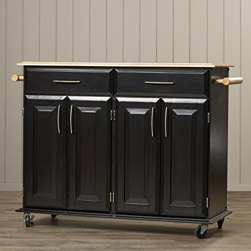 Kitchen Cabinets Ideas | Portable Kitchen Island  Modern Stylish ELegant Mobile Cart With Wheels Rolling Movable Storage Furniture * Continue to the product at the image link. Note:It is Affiliate Link to Amazon.