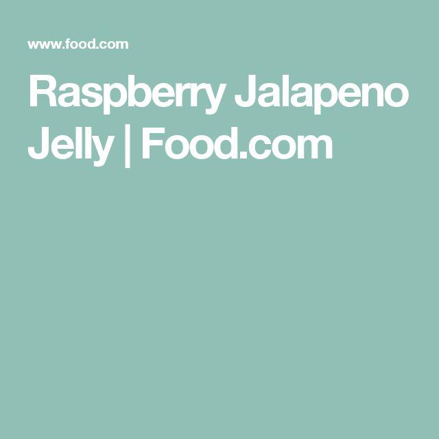 Raspberry Jalapeno Jelly | Food.com