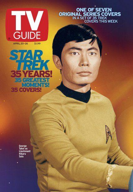 TV Guide April 20, 2002 (6 of 7) - George Takei of Star Trek