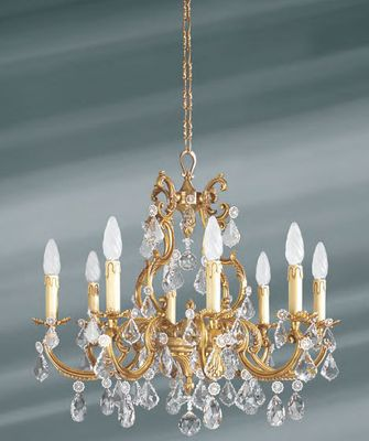 ivory chandelier with 8 lights