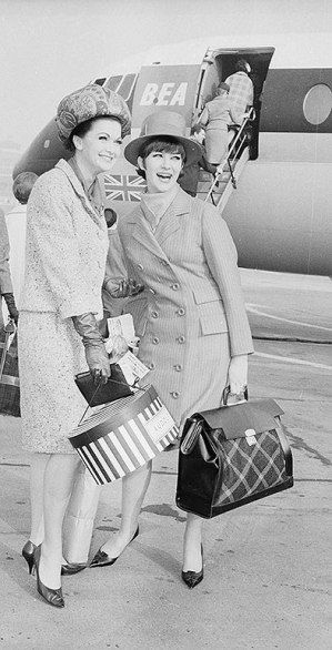 #TBT Photos: The Evolution of the Flight Attendant Uniform