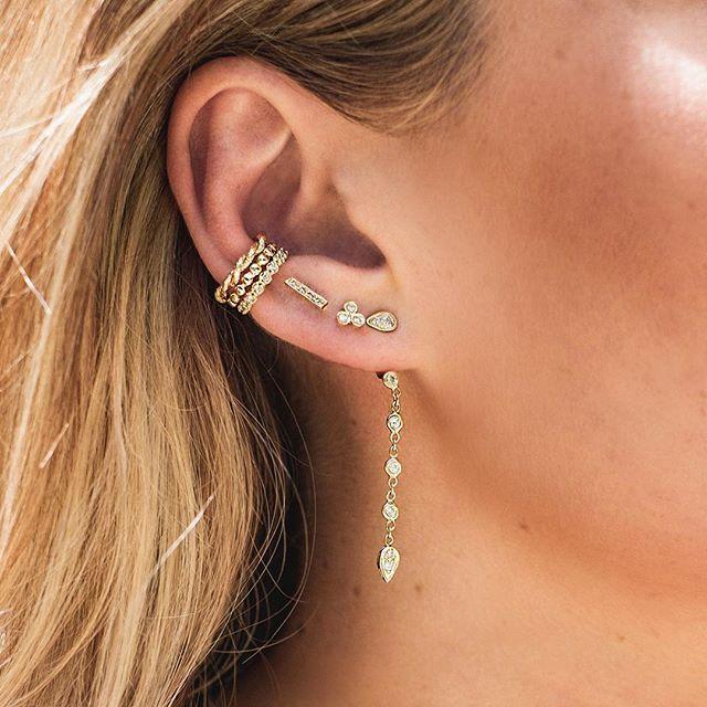 Sweet little stacks of diamonds & gold ✨