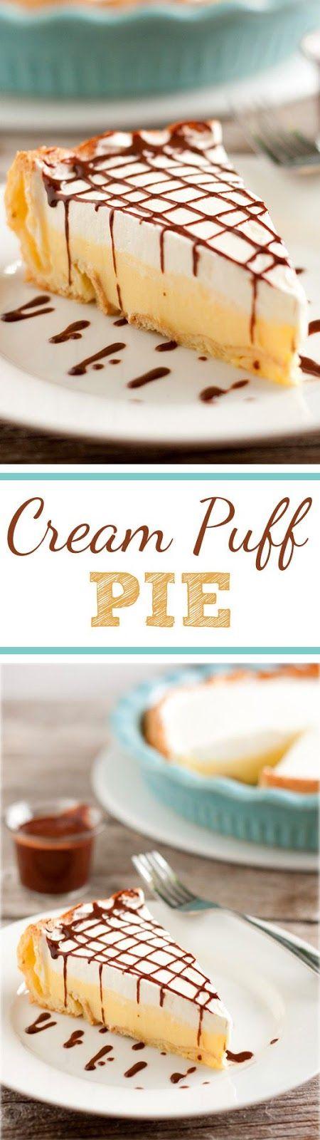 Cream Puff Pie (aka cream puff cake or eclair cake) | Food And Cake Recipes