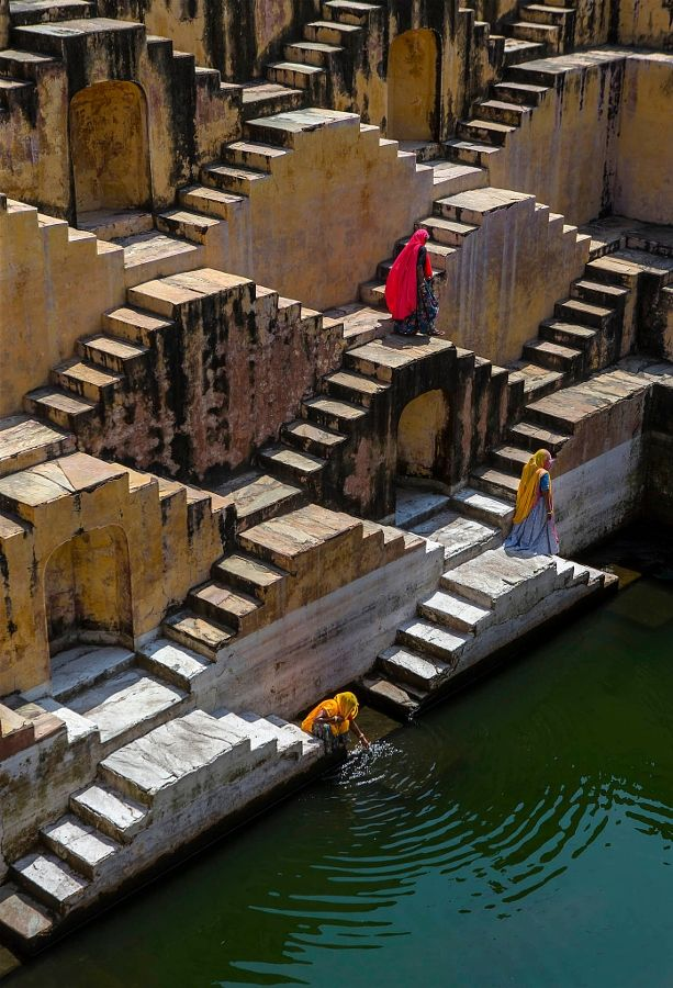 Stepwell, Jaipur, India