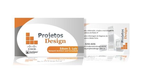 Cartão de visitas para profssional de Tecnologia da Informação - RJ.