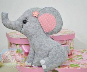 Слоники из фетра (Шьем игрушки)