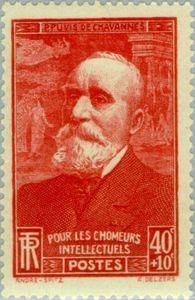 For the unemployed intellectuals. Pierre Puvis de Chavannes