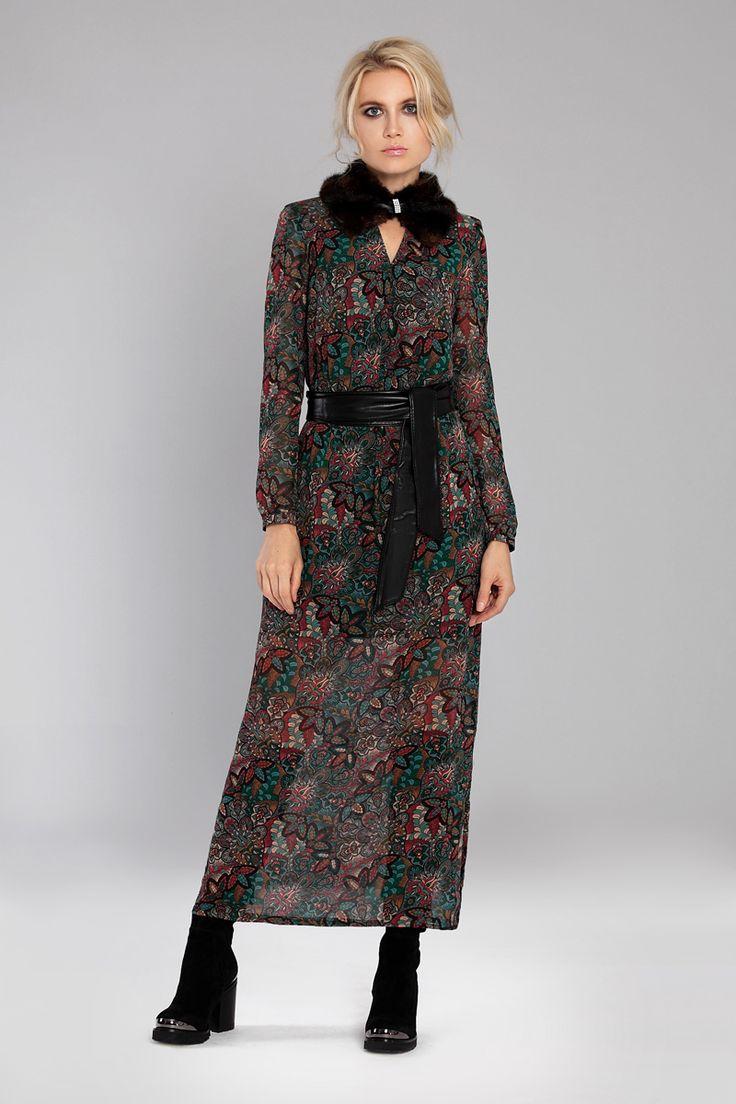 Платье с мехом - роскошная тенденция сезона осень-зима 2016/17. Мы уже давно отвыкли от платьев с меховым боа, но дизайнеры модных домов вдохнули новую жизнь в этот тренд, осенью-зимой 2016-2017 в моде платья с мехом, меховыми воротниками и отделкой. Модель 454 Если Вас интересуют оптовые или совместные покупки, то Мы с удовольствием будем с Вами сотрудничать. Наш сайт http://lnk.al/2A5P.  devitabel@mail.ru   Телефон:+375 29 3757770  skype: devitabel #devita