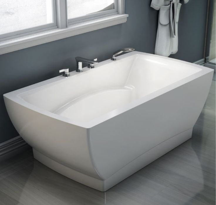 Produits Neptune s stylish modern freestanding bathtub  Believe Collection 52 best images on Pinterest Bathtubs Soaker