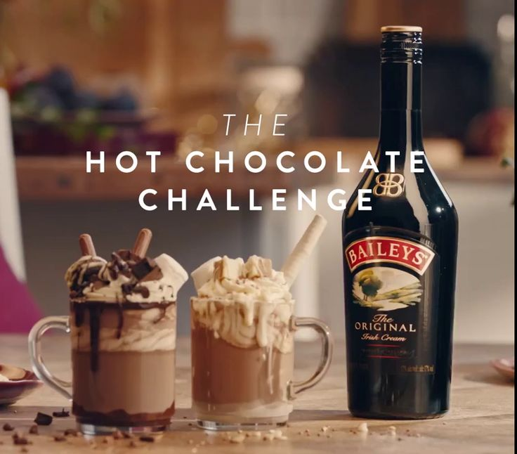 What is better than a warm and delicious hot chocolate enriched with the flavour of Bailey's on a Winter day? Two of our favorite things in the entire world, together at last in one mug.
