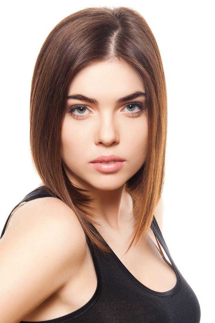 nice Асимметричные стрижки на короткие и средние волосы (50 фото) —  Оригинальные идеи 2017