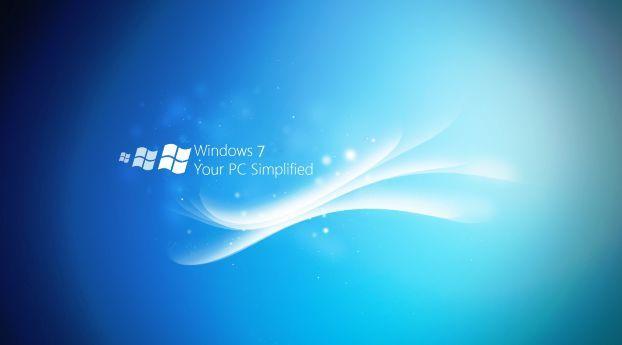 Windows 7 Lines White