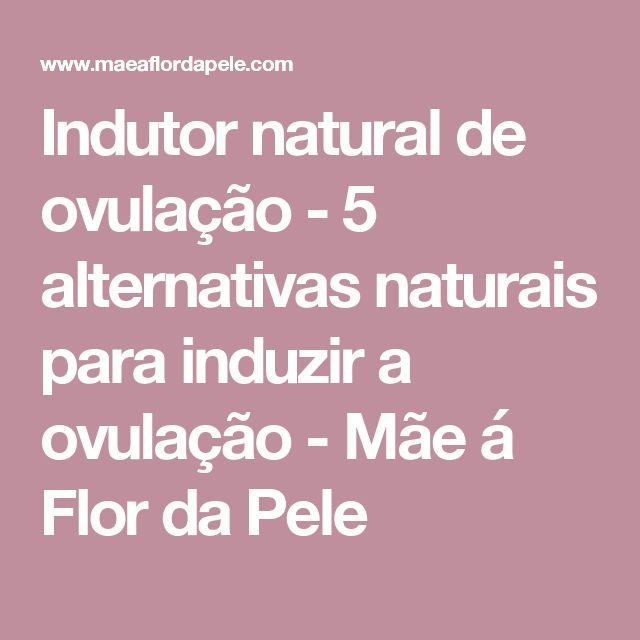 Indutor natural de ovulação - 5 alternativas naturais para induzir a ovulação - Mãe á Flor da Pele
