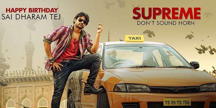 #SaiDharamTej Birthday Stills from #Supreme Movie