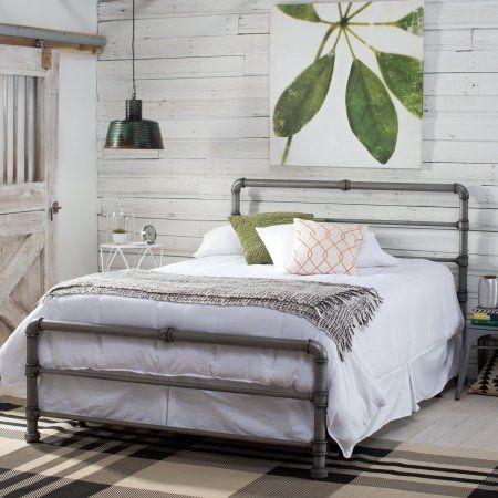 Wrought iron bed princess bed linen IKEA person / double beds ...