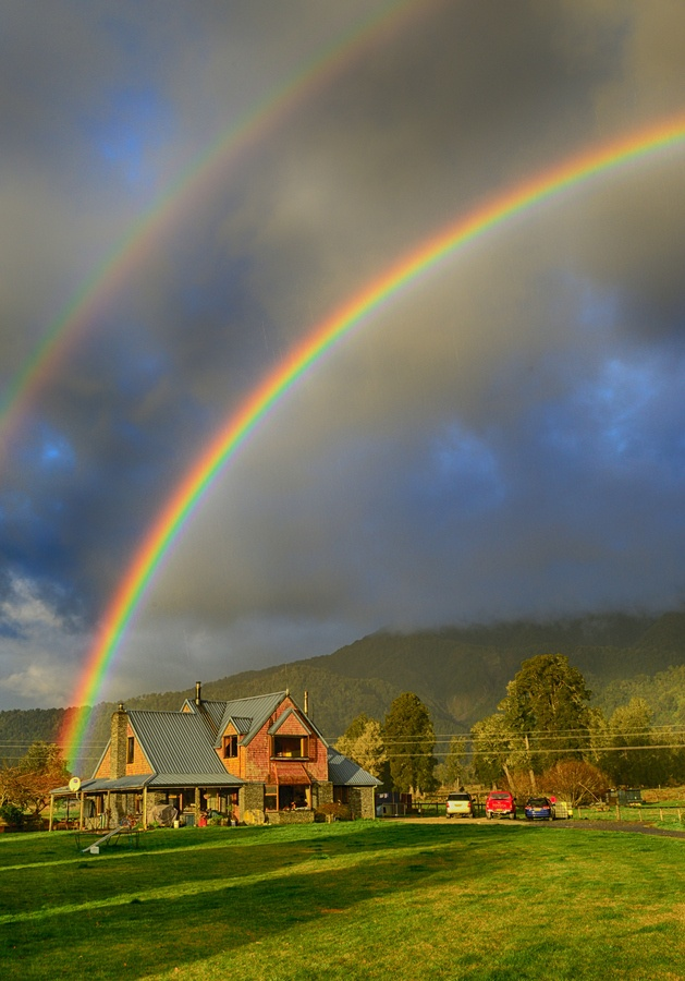 Double Rainbow by Keith Lim, via 500px