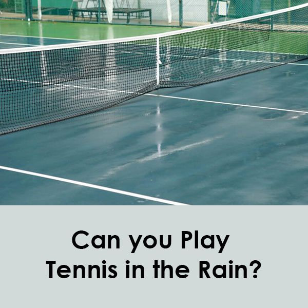 Outside Of The Pro Circuit Tennis Matches Often Take Place In The Rain Unless Conditions Are Extreme Often Times Tournaments Tennis Play Tennis Tennis Match