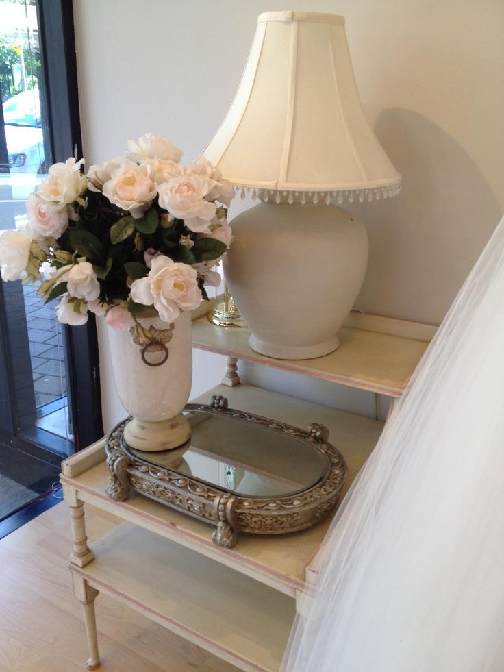 Silk flower antique elegance