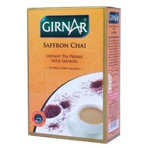 Girnar Saffron Chai Instant Tea Premix #Tea #ChaiTime #Refreshing #Aroma #Taste #TeaSet #Saffron