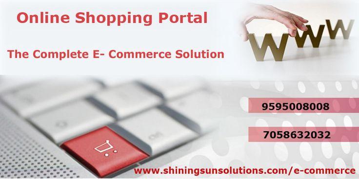 Shining Sun Company provide a complete E-Commerce website design service in all over India. We do professional custom E commerce website development using Magento & WordPress.