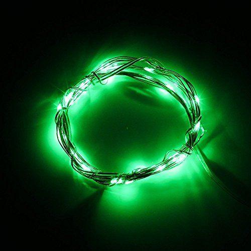 BINZET Green Indoor String Lights LED Fairy Light 3 AA Battery Operated Lights 3M 30LEDs Soft - 17 Best Ideas About Indoor String Lights On Pinterest String