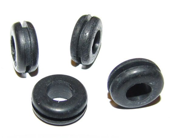 """DIY Mason Jar Sipper Sippy Cup Rubber Grommets 1/4"""" x 3/8"""" - Lots of 4 Grommets on Etsy, $1.11"""