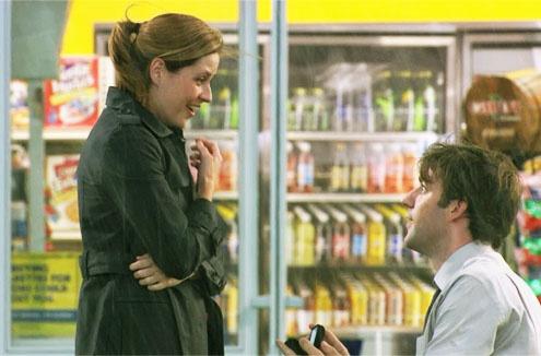 Jim and Pam (John Krasinksi and Jenna Fischer), The Office